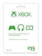Xbox Live 15 Euro Card
