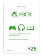Xbox Live 25 Euro Card